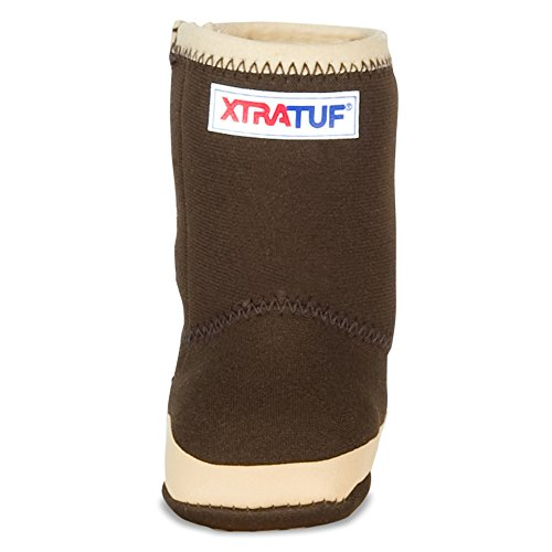 XTRATUF Legacy Series Kids Baby Booties, Copper & Tan (21192B) - Image 1