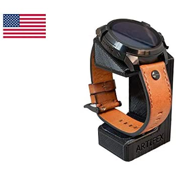 Artifex Design Stand Configured for Diesel On Full Guard Smartwatch Charging Dock Stand (Black)