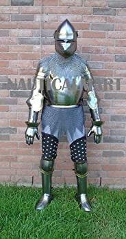 NauticalMart LARP knight king jousting Suit Of Armor