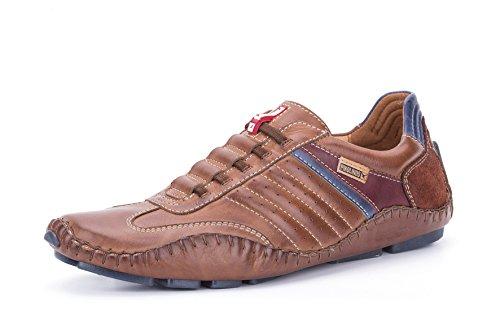 Pikolinos 15A-6092 Fuencarral Zapatos Mocasines de cuero para hombre Braun