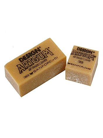 Prismacolor Artgum Gum Erasers 2 in. x 1 in. x 7/8 in. each [PACK OF 24 ]