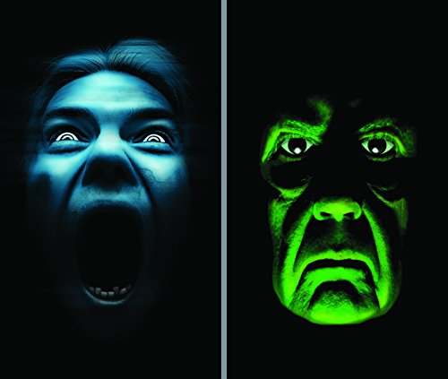 WOWindow Posters Green Demon Silent Shrieker Halloween Window Decoration Two 34.5