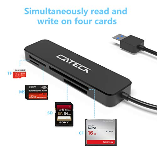 SD Card Reader USB 3.0 Card Reader for Micro SD/SDXC/CF/SD/SDHC/MS/XD/T-Flash/MMC
