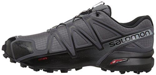 Salomon Men's Speedcross 4 Trail Running Shoe Dark Cloud 7 Wide US by Salomon (Image #5)