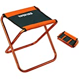 "SPOFINE Mini Camp Stool, Lightweight Camping Stool, Portable Folding Camp Chair, Foldable Outdoor Chairs for Travel, Camping (X-Large:16""x14""x13""; Large:12""x12""x10.5""; Medium:10.6""x9.8""x8.9"" for Kids)"