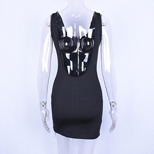 Largo por Larga Encaje JYC Noche Negro Fiesta Elegante Mujer Fiesta Falda La Casual Mujer Verano Detrás De Camiseta Boda Cuello O Escotado Vestido Suelto Vestido Vestido Vestir pw6ARxw