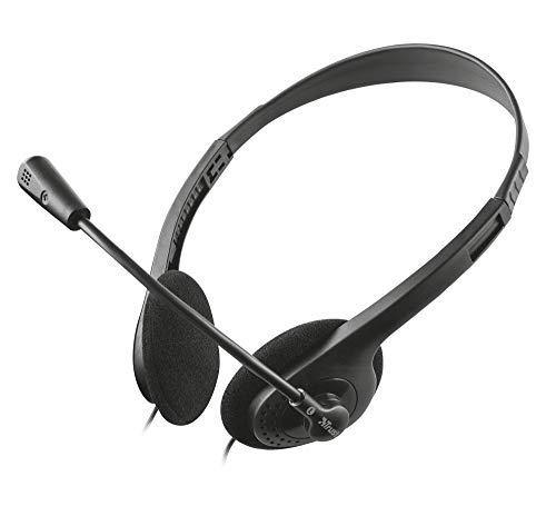 🥇 Trust – Auriculares con Micrófono para PC
