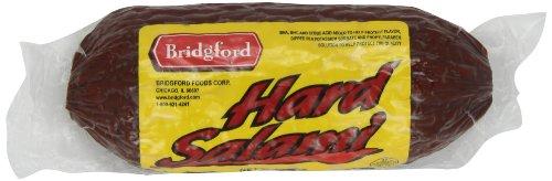 Bridgford Hard Salami, 12-Ounce Chubs (Pack of 4)