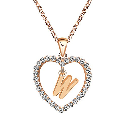 (Molyveva Forever Love Heart Puppy Dog Cat Pet Paw Cut Out Pendant Necklace Lovers Couple Necklace Jewelry)