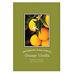 Bridgewater Candle Scented Sachet Set of 6 - Orange Vanilla