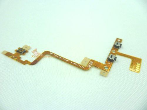 Internal Inner Top Power On/off Lock Switch Side Volume Up/down Control Button Key Flex Ribbon Cable for Ipod Touch 4th Gen 4g 8gb 32gb 64gb