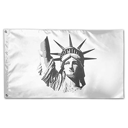 Statue of Liberty Football 3 X 5 Outdoor Decorative Yard Flag Home Garden Flag -