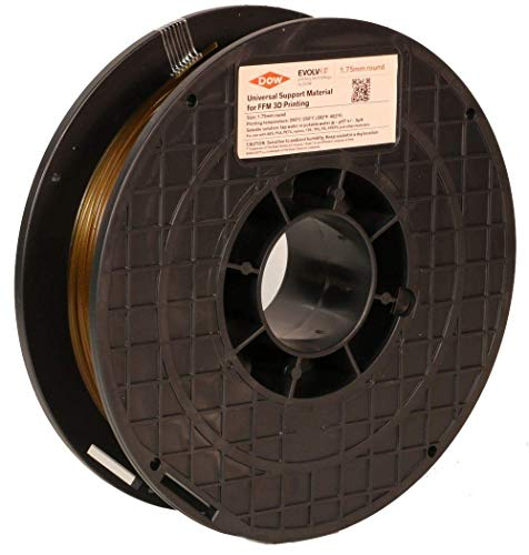 Dow Chemical Water Soluble, Dissolvable Support 3D Printer Filament 1.75mm