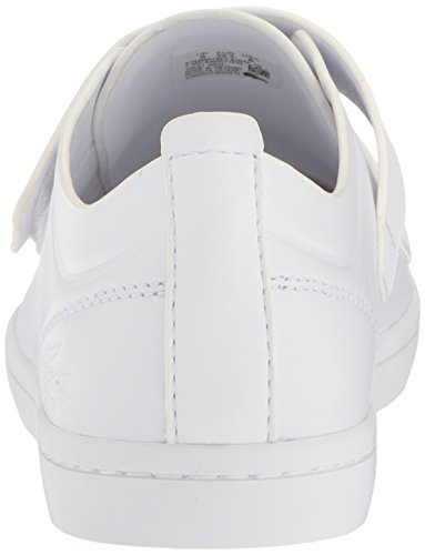 Strap White Women Straightset Sneaker white Lacoste Caw 1 118 d0EAwxq