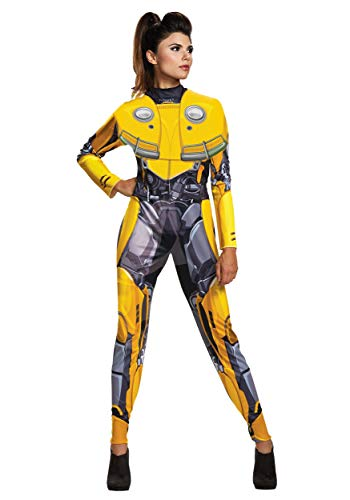 Disguise Women's Bumblebee Adult Female Bodysuit Costume,