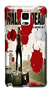 Tomhousomick Custom Design The Walking Dead Case for Samsung Galaxy Note 4 Phone Case Cover