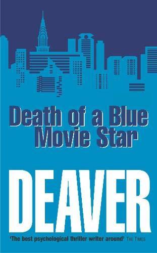 Book by Jeffery Deaver - Death Of A Blue Movie Star (Rune