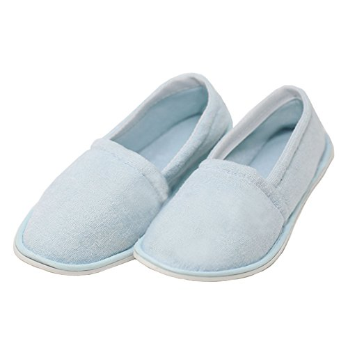 Slippers Slip Women's Easy Blue Terry USA On House twYtxAfZq