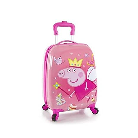 09c43acb9703 Heys - Lightweight - Especially Designed for Children - Peppa Pig Square Luggage  Case Suitcase  Amazon.ca  Luggage   Bags
