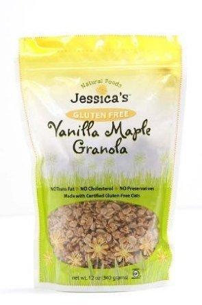 Jessica's Natural Foods Granola - Vanilla Maple - 12 oz.