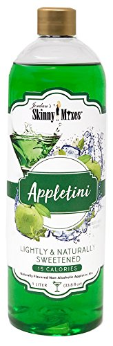 Skinny Appletini, Skinny Mixes, 33.8 oz (Packaging May Vary) (Martini Apple Sour)