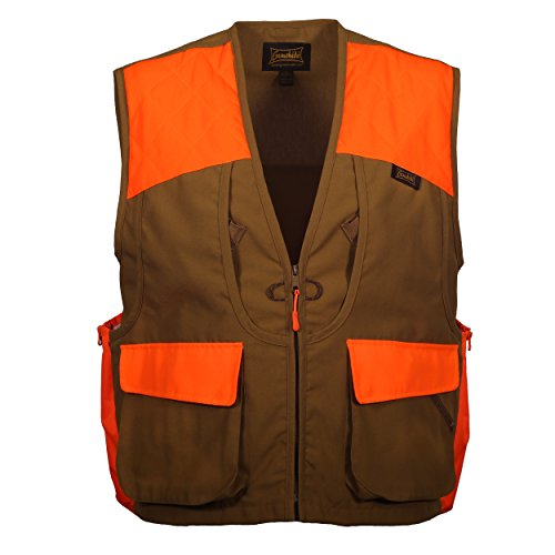 (Gamehide Guide Style Large Capacity Front Loading Upland Hunting Vest (Marsh/Orange, 3X-Large))