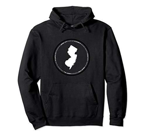 New Jersey: Cape May, Elizabeth, Seaside, Asbury, Hoboken Pullover ()
