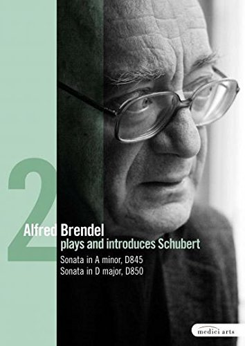 Alfred Brendel Plays & Introduces Schubert's Late piano works: Sonatas D845 & D850 [1976] [DVD] [2009]