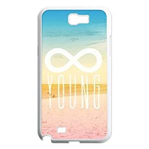 Forever Young Unique Design Cover Case for Samsung Galaxy Note 2 N7100,custom case cover ygtg590249