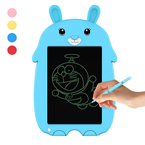 Doosl LCD Writing Tablet -Doodle Board for Kids 8.5″ Electronic Writing & Drawing Board – Kids Gift for Girls/Boys, Handwriting Paper Drawing Tablet Home & School Use (Blue)