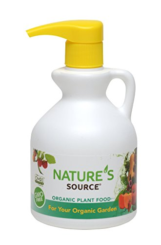 Nature's Source Organic Plant Food- 3-1-1 Container with Convenient Dosing Pump