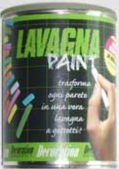 Lavagna Paint pittura effetto lavagna 500 ml colore nero: Amazon.it ...