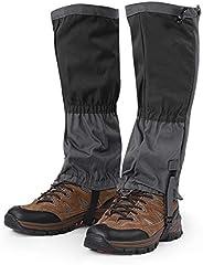 Polainas anti-rasgo para tornozelo, polainas para neve à prova de vento Protetor de perna anti-rasgo para ativ