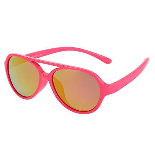 Kids Sunglasses Rubber Flexible Polarized Aviator Sunglasse For Children Age - Sunglasses Of Polarized Use