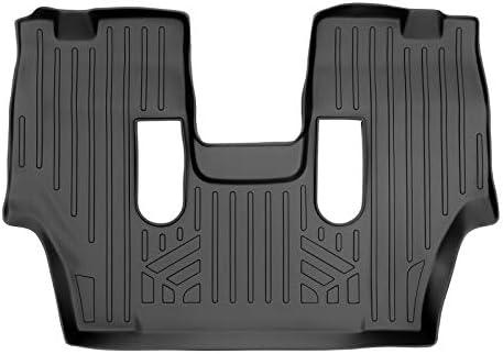 MAXLINER Floor Mats 3rd Row Liner Black for 2011-2021 Dodge Durango with 2nd Row Bucket Seats
