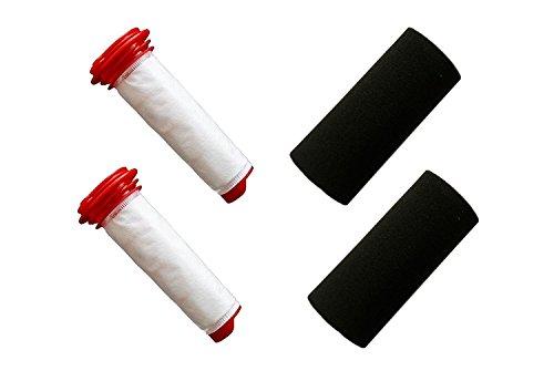 Green Label Empaque de 2 Kit de Filtros para Aspiradora Escoba Bosch Athlet. Reemplaza a 00754175, 00754176