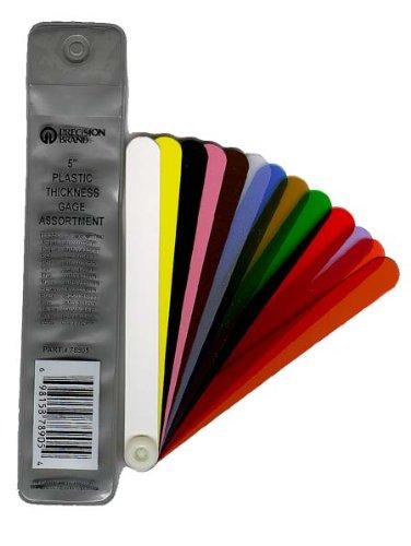Precision Brand 78900  Plastic Thickness Gage Fan Blade Assortment, 0.001-0.03