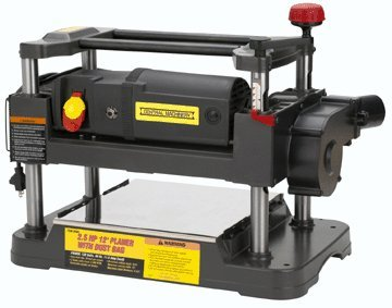 """Central Machinery 2-1/2 HP 12"""" Planer with Dust Collection"""