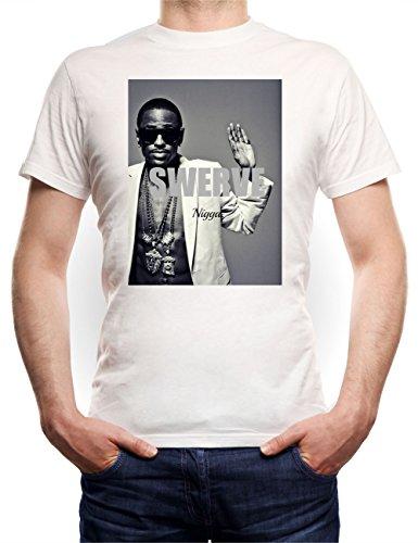 Big Sean Swerve T-Shirt Bianco