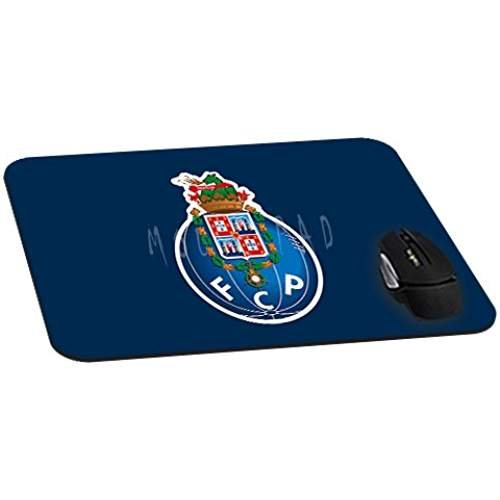 Office Rectangle Mouse Pad with Fc Porto Image Cloth Cover Non-Slip Rubber Backing-Gaming Mousepad(8.7x7.1x0.12 Inch) HAYNI CASE ISASS