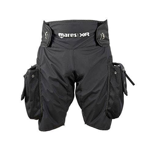Mares XR Tek Pocket Untra Light Shorts Scuba Diving Wetsuit Tech Gear 412032 by Mares