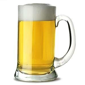Artis icono jarra de cerveza (Pack de 6), vidrio, 283 g