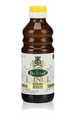 Bio-Leinöl aus dem Spreewald 250ml (mit Lignane)