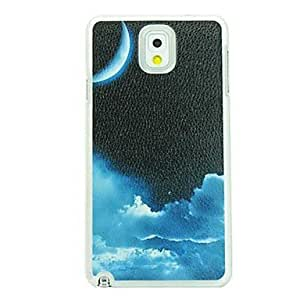 LZX Night Sky Leather Vein Pattern Hard Case for Samsung Galaxy Note 3 N9000