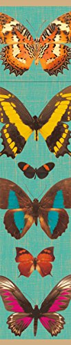 Entertaining with Caspari Deyrolle Butterflies Fireplace Matches, Turquoise by Entertaining with Caspari