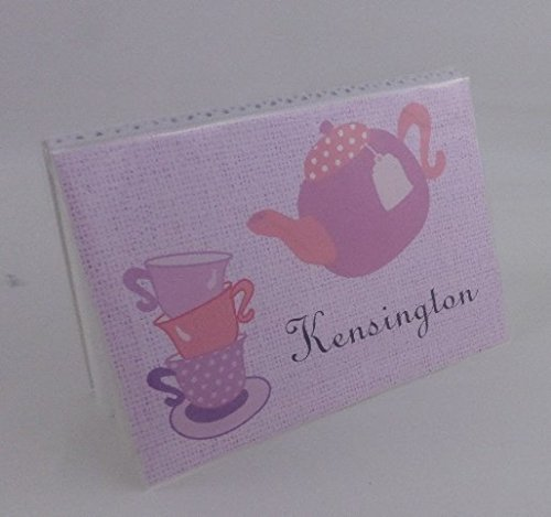 Tea Party Photo Album IA#370 4x6 or 5x7 Pictures Birthday Baby Shower Gift Girl Keepsake Grandmas Brag Book by JaDazzles