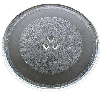G.E. Microwave Glass Turntable Plate / Tray 12 3/4 '' WB49X10061 by