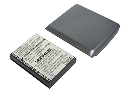 2200mAh Replacement Battery For ASUS Mypal A630, Mypal (A630 Battery)