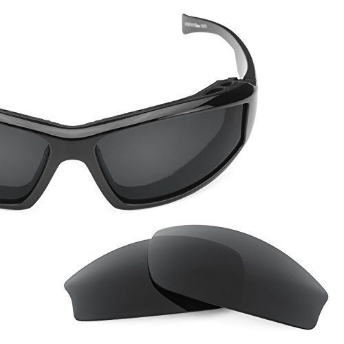 Revant Polarized Replacement Lenses for Wiley X Jake Elite Stealth Black by Revant
