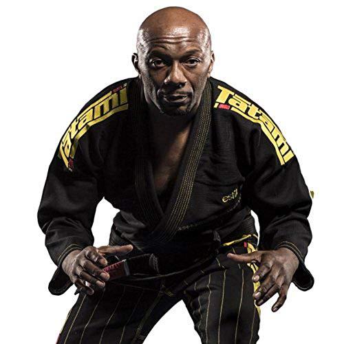 TATAMI Fightwear Estilo 5.0 Premier BJJ Gi (Black/Yellow, A5)